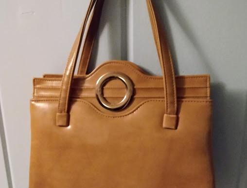 Mid-Century Vintage Leather Satchel
