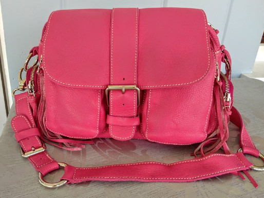 Roots Canada Leather 'Emily' Purse