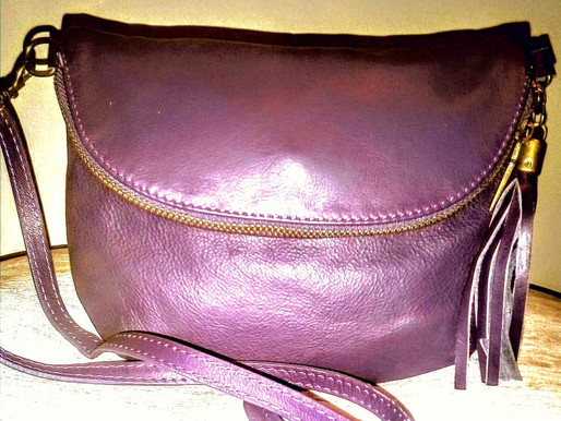 Florence ~Italian Leather Crossbody ~ New