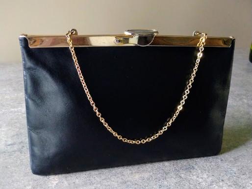 Etra Vintage Leather Clutch