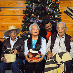 Left to right: Jap, Dorthea, Nelson