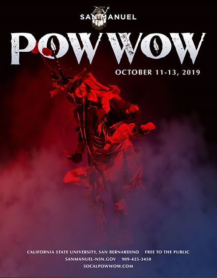 VisitCaliorniaTribes Cultural Events - San Manuel Pow-Wow October 11-13, 209 to be held at California State University, San Bernardino.