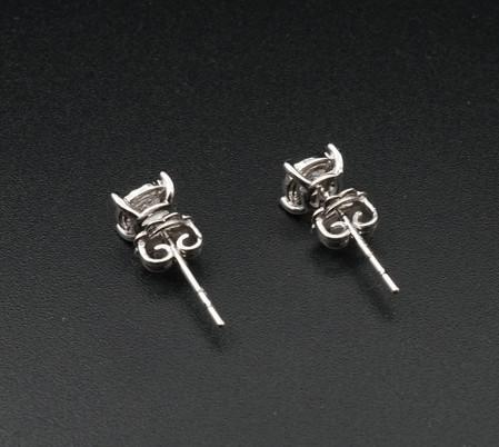 Diamond Ear Ring 36 D VG x1pair top 2.jp