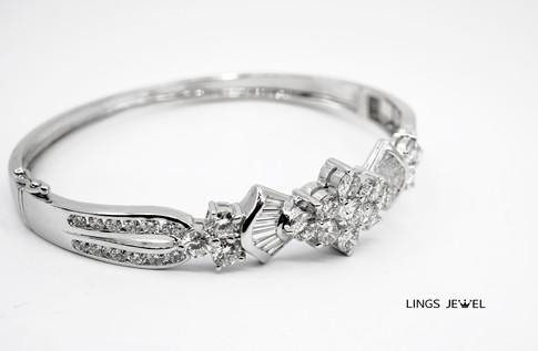 Grand 6 star combo Diamond bracelet 2.jp