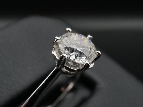 0.73 Carat G Color Diamond Ring