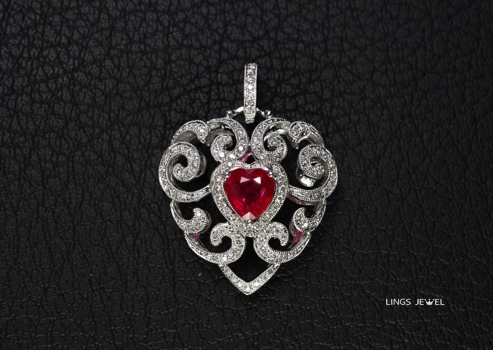 heart shape Diamond Oendent.jpg