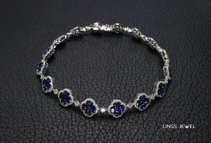 Four leaf clover sapphire bracelet.jpg