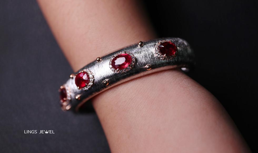 Ruby Bracelet italy style s 3.jpg
