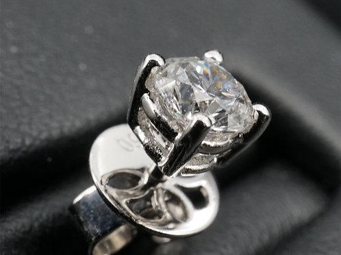 鑽石耳環D Color0.30卡