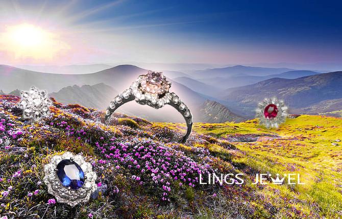 花的語言 花卉珠寶