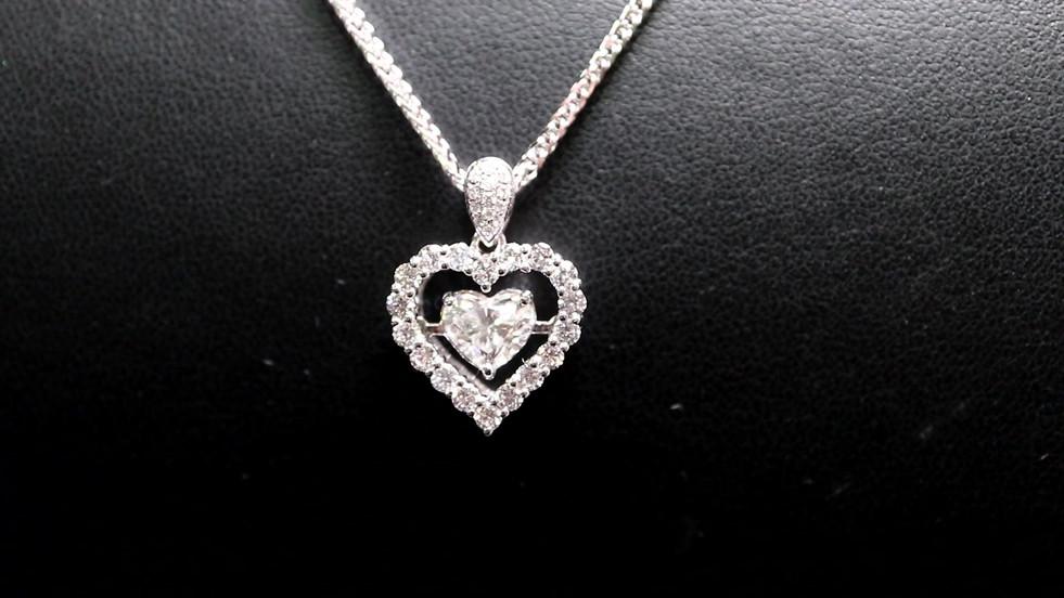 Sparkling 1 Carat Heart Shape Diamond.mp