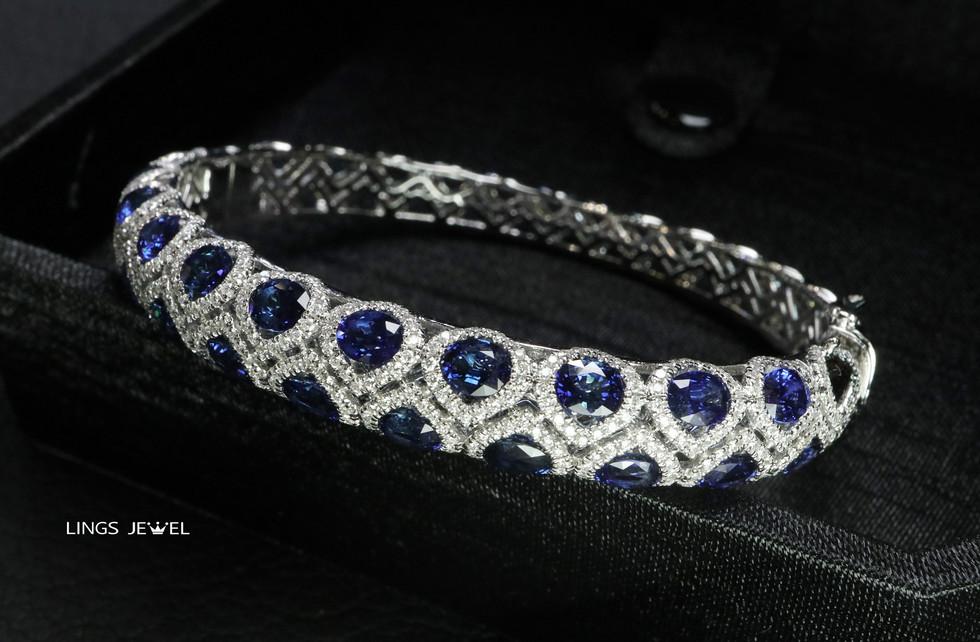 cyber style sapphire bracelet 0820 small