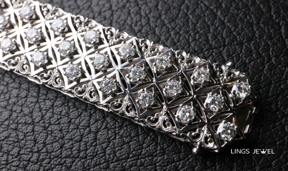 Star shape 6 carat Diamond Bracelet 6.jp