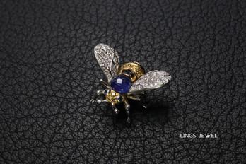 Sapphire yellow diamond bee pendent.jpg