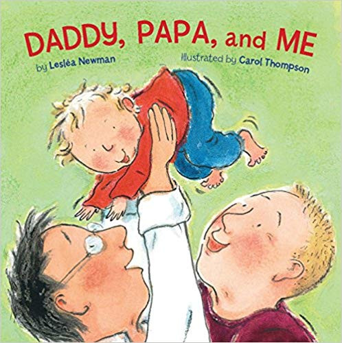 Book cover: Daddy, Papa, and Me