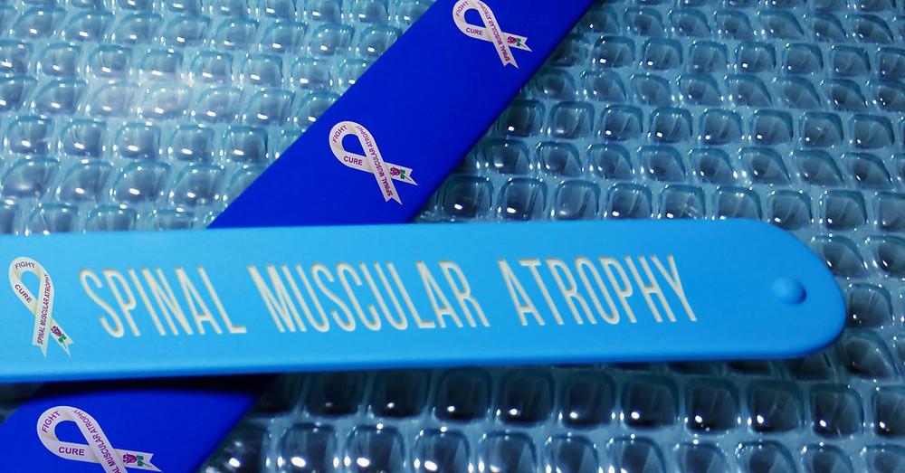 Spinal Muscular Atrophy awareness bracelet