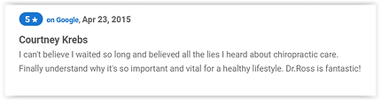 Patient Review of Dr. Gene Ross