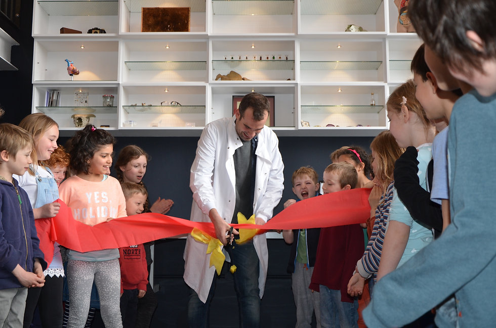 Primary school science lab opening