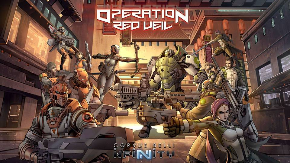 Operation Red Veil : Infinity Battle Pack