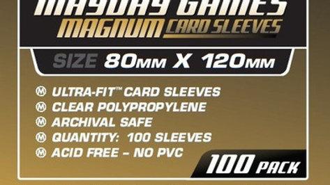 Magnum Gold (Tarot Size) 80 x 120 mm [7104]