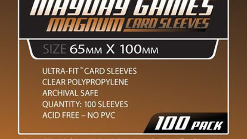 Magnum Copper Card Sleeves 65 x 100 mm [7102]
