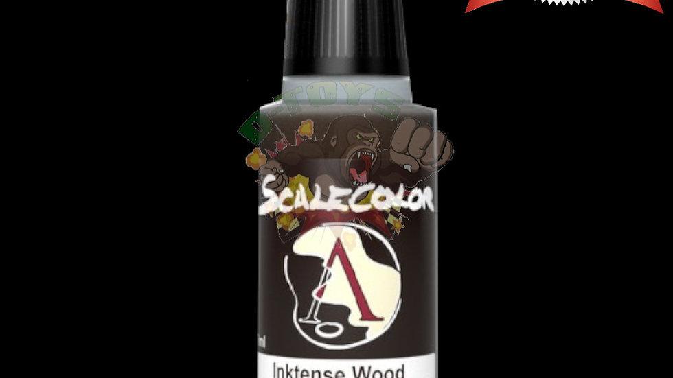สีสูตรน้ำโปร่งใส โมเดล รถเหล็ก กันดั้ม Scale 75 Inktense Wood 17 ml