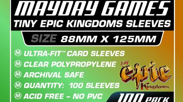 Custom Tiny Epic Kingdoms 88 x 125 mm [7129]