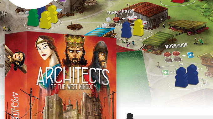 Architects of The West Kingdom with Promo Set