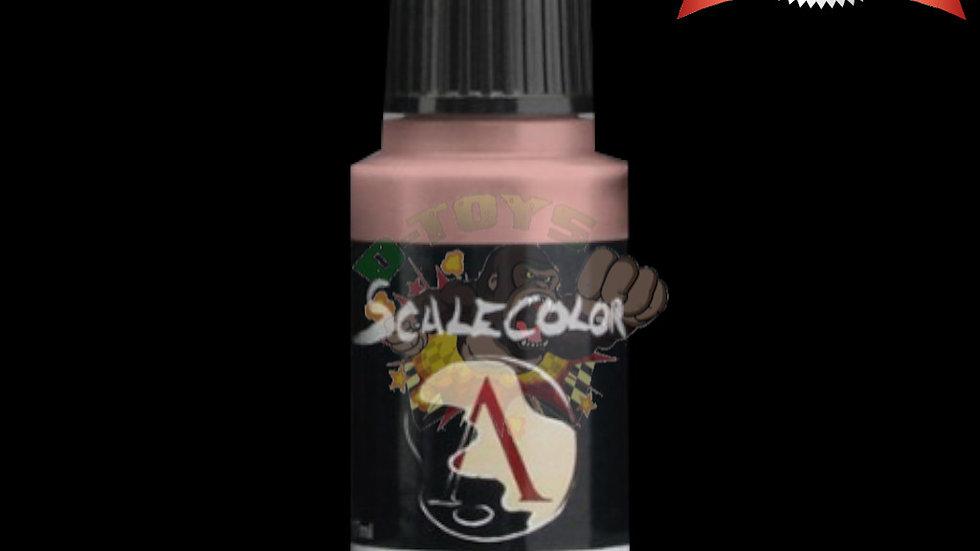สีสูตรน้ำ สีโมเดล รถเหล็ก กันดั้ม  Scale 75 Pink Flesh 17 ml