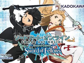 รีวิวบอร์ดเกม Sword Art Online Board Game : Sword of Fellows (2017)