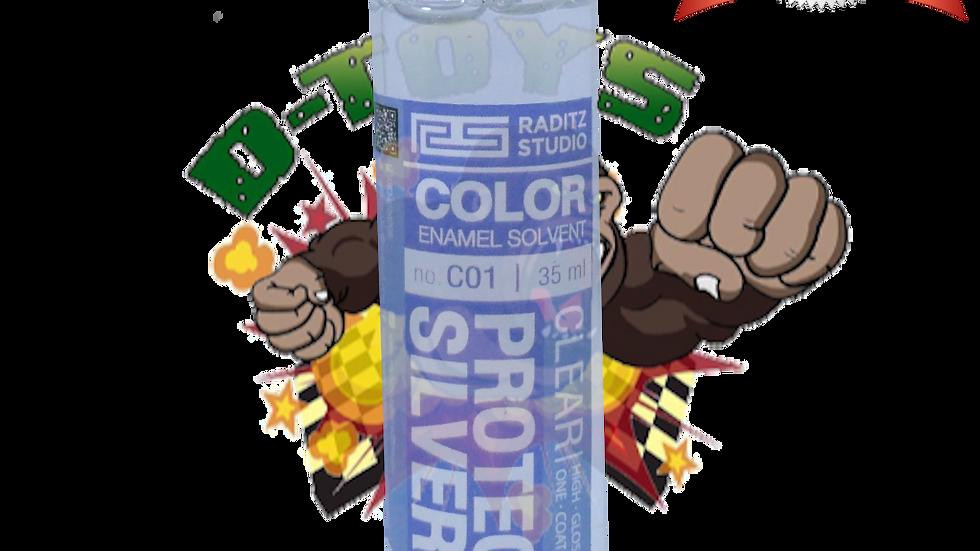 สีโมเดล Protect Silver ขนาด 35 ml สำหรับ Airbrush