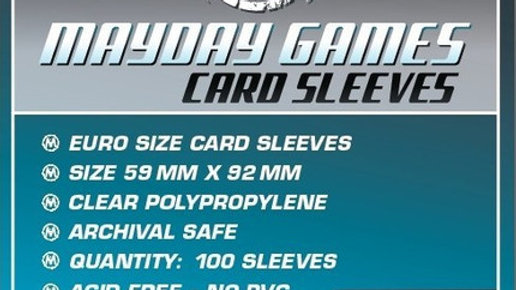 Euro Size Card Sleeves 59 x 92 mm [7028]