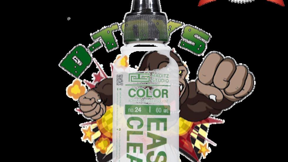 สีโมเดล Easy Clear Extra Flat  ขนาด 60 ml สำหรับ Airbrush