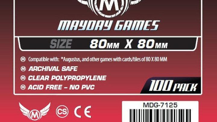 Medium Square Card Sleeves 80 x 80 mm [7125]