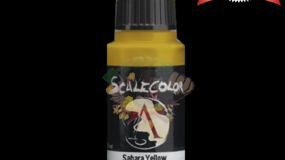 สีทา สีโมเดล รถเหล็ก กันดั้ม สูตรน้ำ Scale 75 Sahara Yellow 17 ml