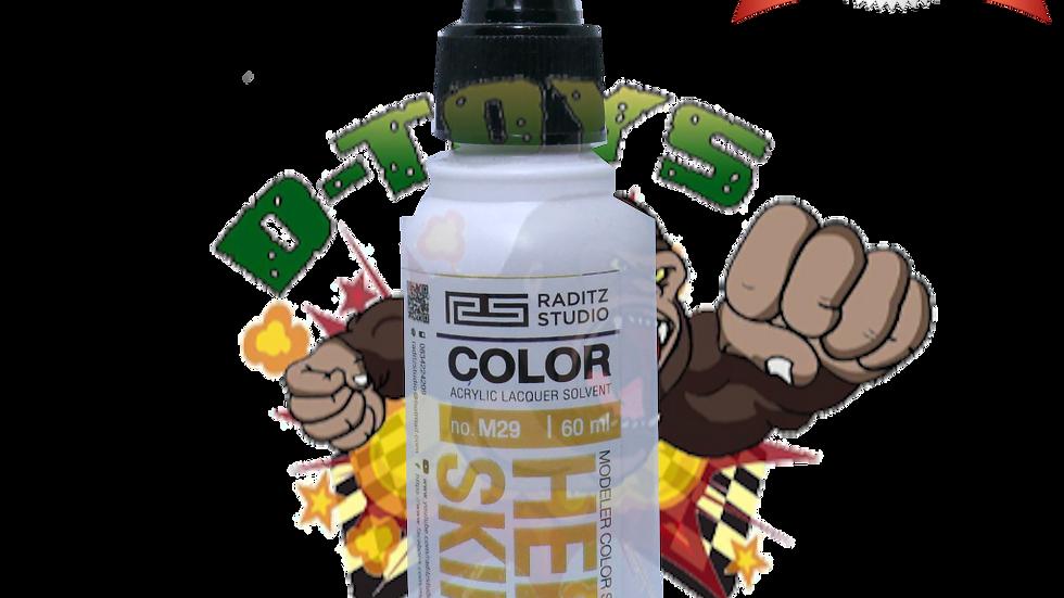 สีโมเดล HERO SKIN1 Hi Gloss  ขนาด 60 ml สำหรับ Airbrush