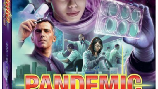 Pandemic : In The Lab Expansion Game