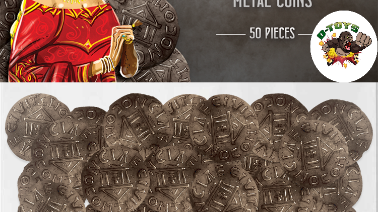 Metal coins (Architects of the West Kingdom)