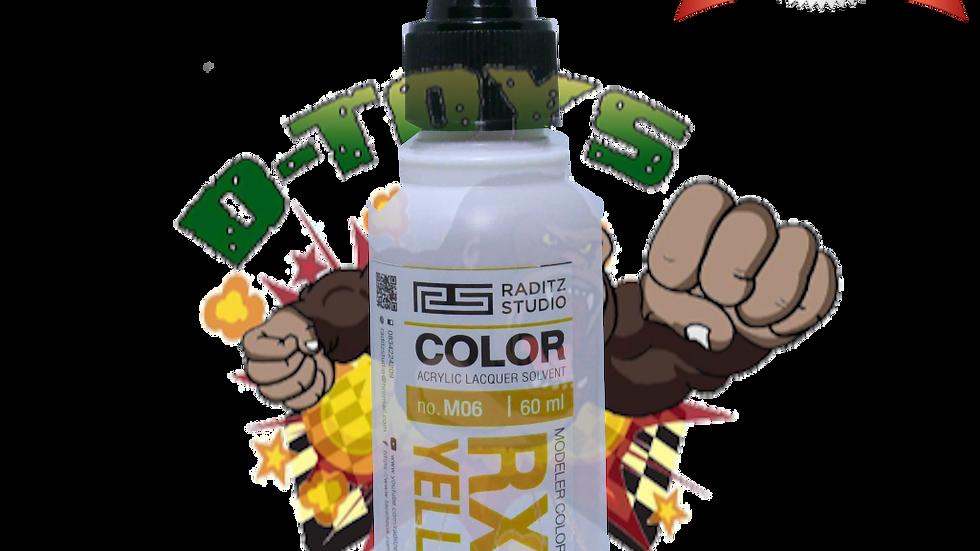 สีโมเดล RX78 YELLOW1 Hi Gloss  ขนาด 60 ml สำหรับ Airbrush