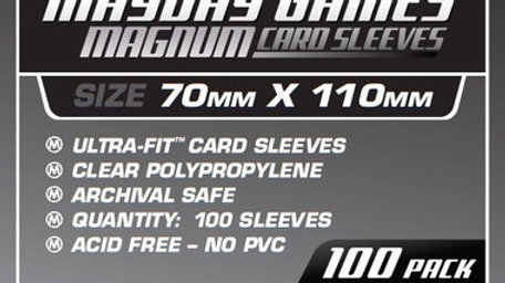 Magnum Silver Card Sleeves 70 x 110 mm [7103]