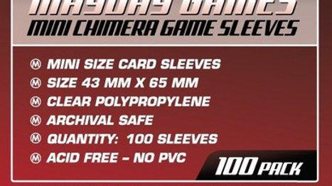 Mini Chimera Card Sized Sleeves 43 x 65 mm [7045]
