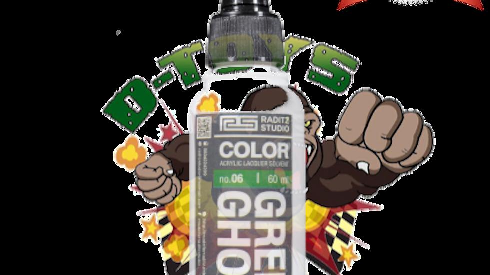 สีโมเดล Green Ghost ขนาด 60 ml สำหรับ Airbrush