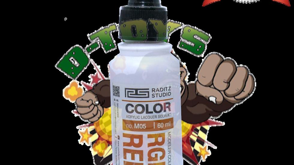 สีโมเดล RGM79 RED1 Hi Gloss  ขนาด 60 ml สำหรับ Airbrush