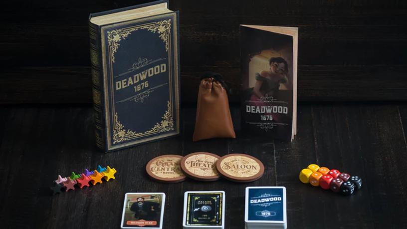 Deadwood 1876: A Safe-Robbing Game of Teamwork & Betrayal