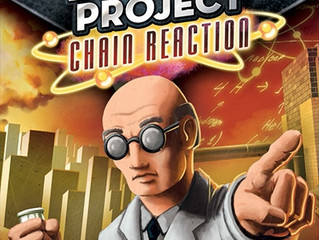 รีวิวบอร์ดเกม The Manhattan Project: Chain Reaction card game (2016)