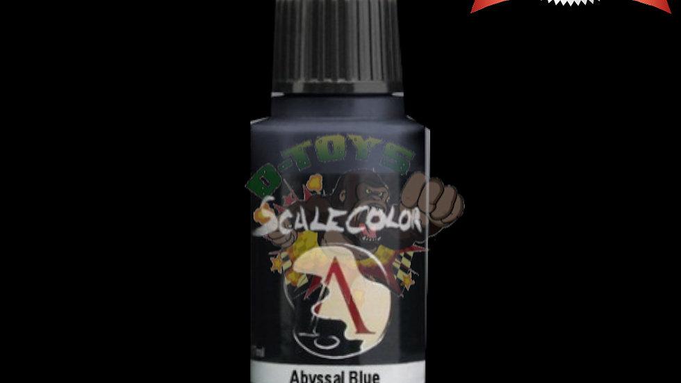 สีทา สีโมเดล รถเหล็ก กันดั้ม สูตรน้ำ Scale 75 Abyssal Blue 17 ml