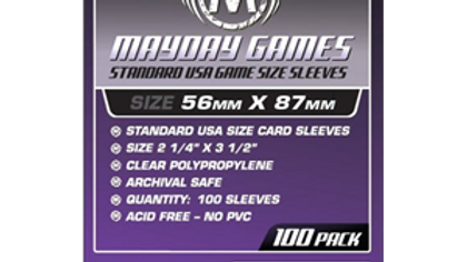 Std USA Card Sleeves 56 x 87 [7040]