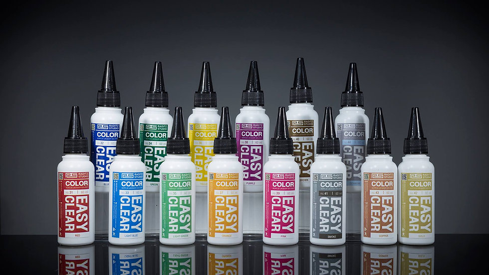 สีโมเดล Easy Clear Colors Raditz ขนาด 60 ml สำหรับ Airbrush