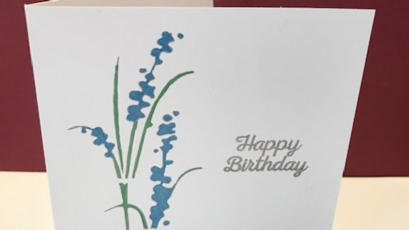 Birthday Bluebells