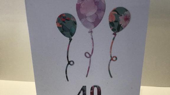 40 Milestone Birthday